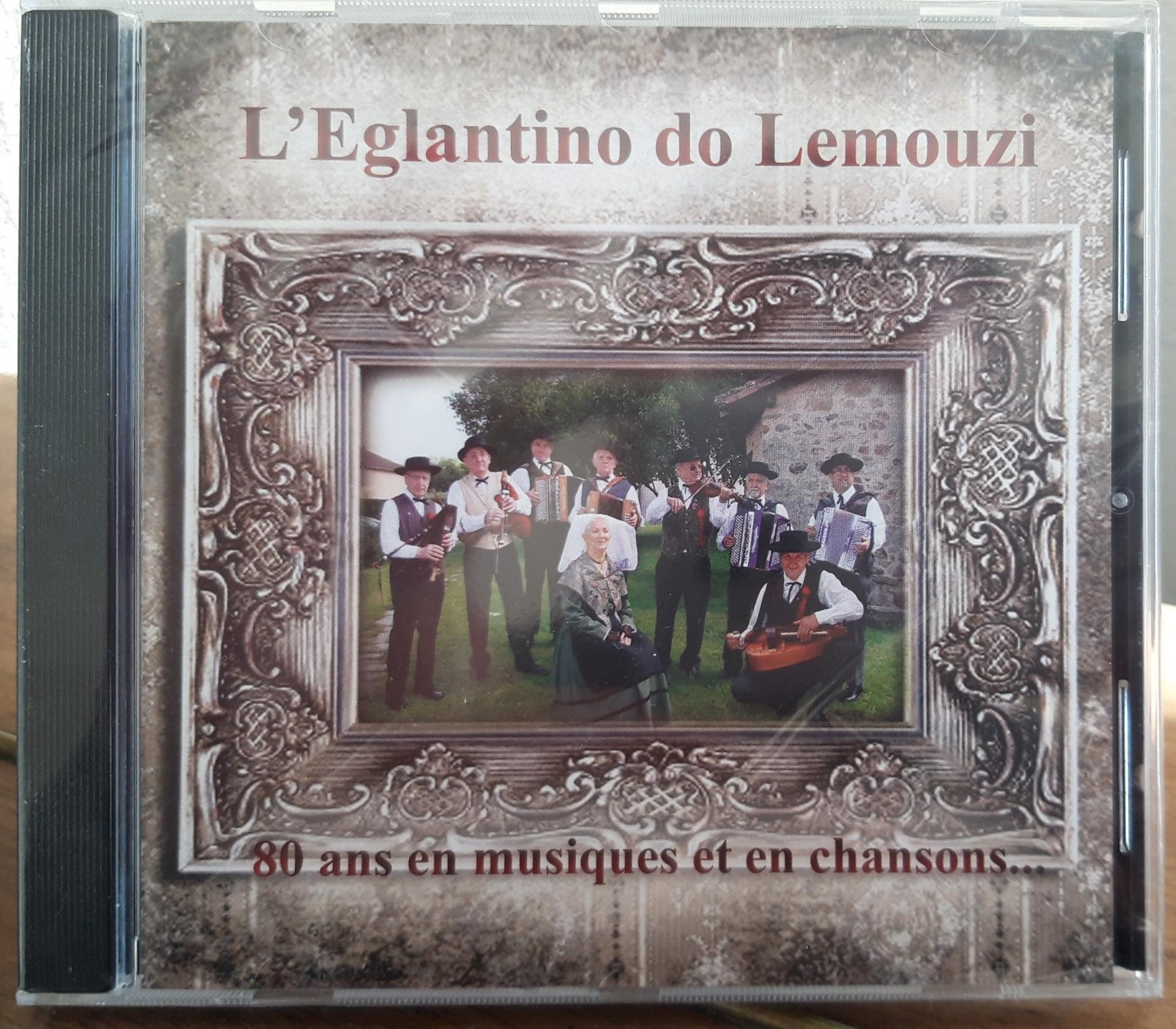 Cd 80 ans du groupe l egantino do lemouzi